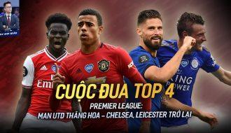 Chelsea trở lại cuộc đua top 4 Ngoại hạng Anh