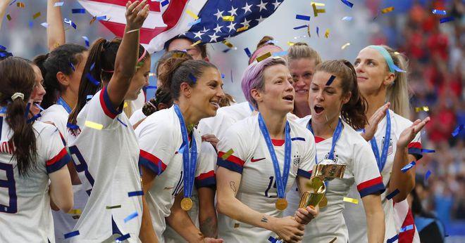 Các thành viên tuyển nữ Mỹ thất vọng